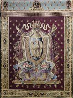 """""""The Napoleon"""" Coat of Arms Tapestry"""