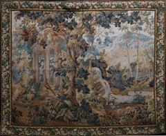 """""""Le Parc"""" (The Park) Verdure Villeroi Tapestry"""