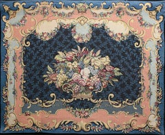 Bouquet Trianon Nuit Tapestry