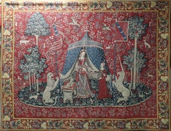 """""""A Mon Seul Desir"""" My Only Desire Tapestry"""