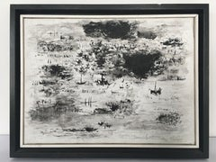 Flemish landscapes, 2015 Acrylic on Canvas Black and White