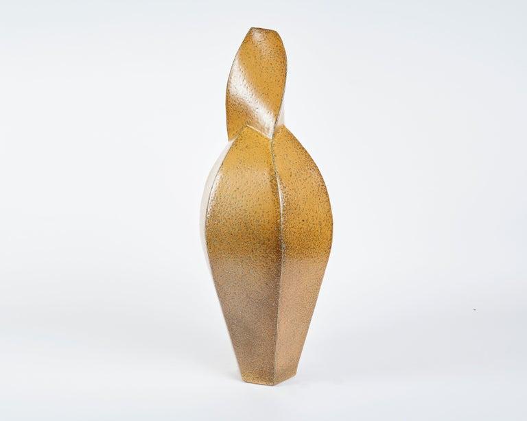 Danish Aage Birck, Twisting Ceramic Vase, Denmark, 2012 For Sale
