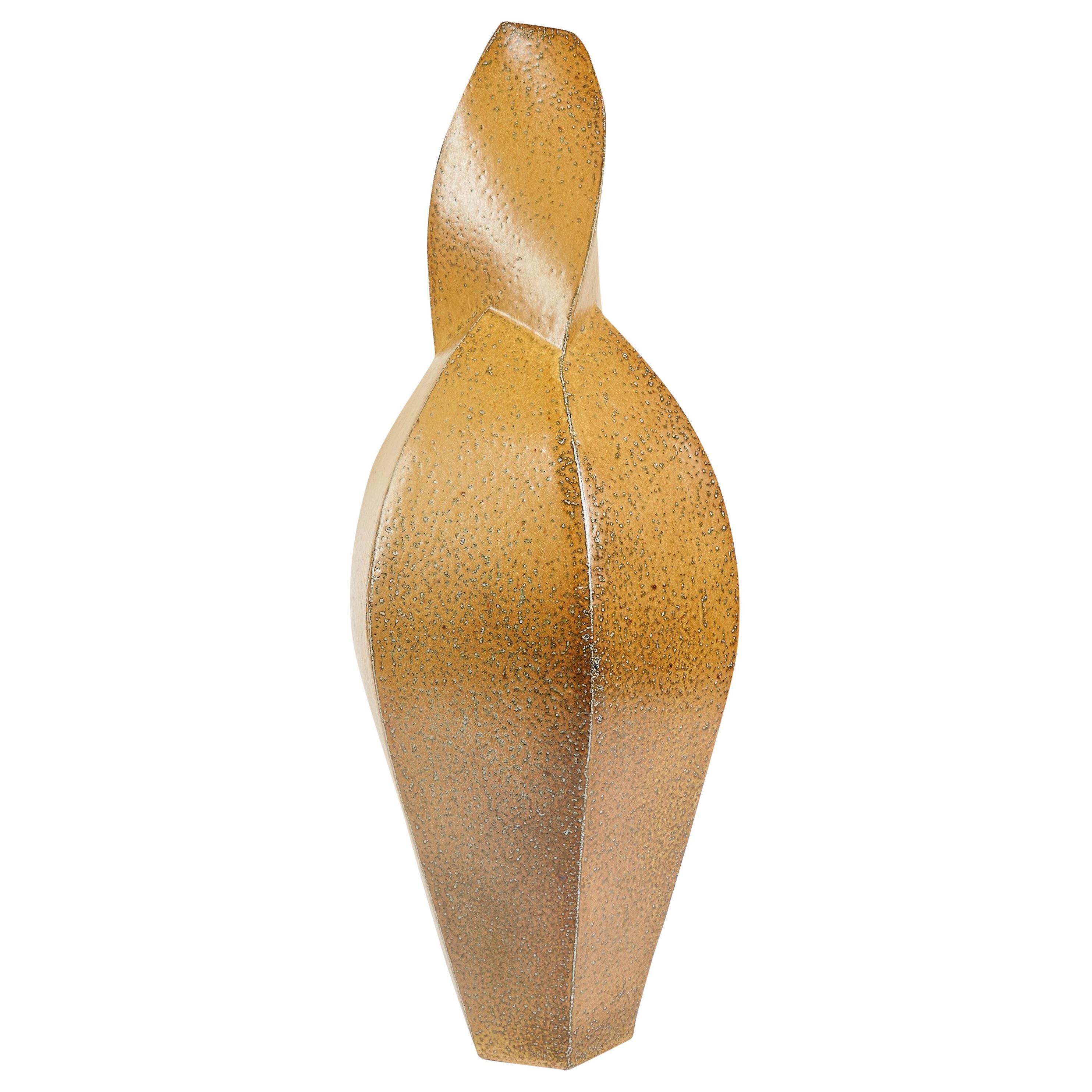 Aage Birck, Twisting Ceramic Vase, Denmark, 2012