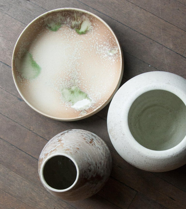 Aage and Kasper Würtz are a father and son team of studio ceramicists based near Horsens in eastern Jutland, Denmark. Known internationally for their hand-thrown and hand-glazed ceramics they have produced bespoke collections for distinguished fine