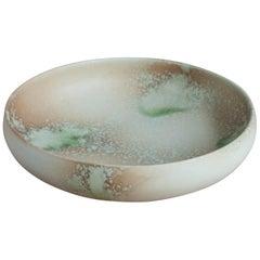 Aage & Kasper Würtz One Off Large Bowl Pink & Green Glaze