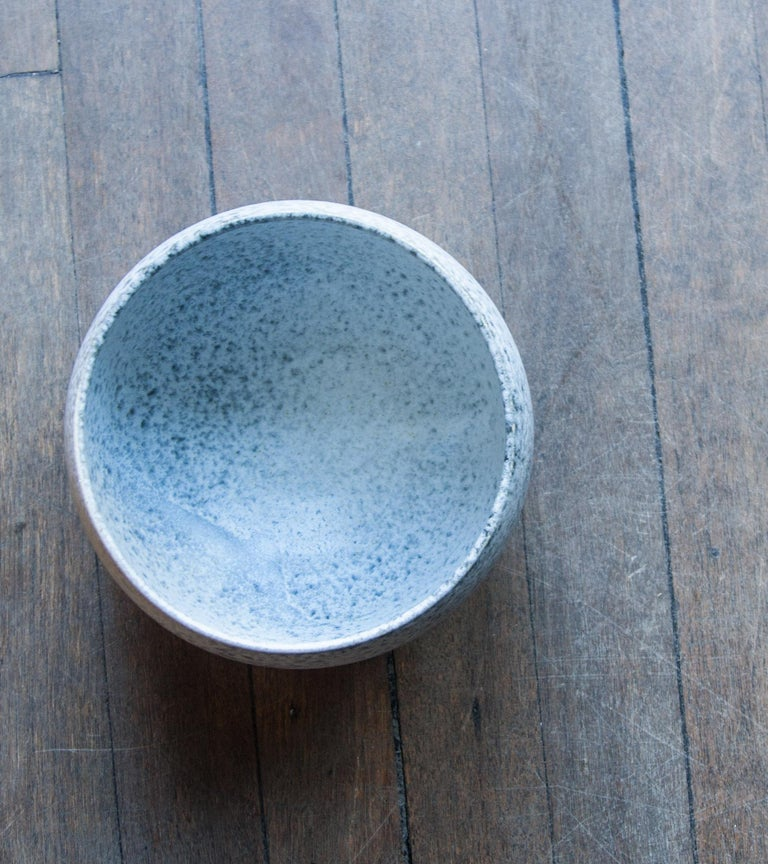 Aage & Kasper Würtz One Off Small Vase Stone Blue Glaze #2 For Sale 2