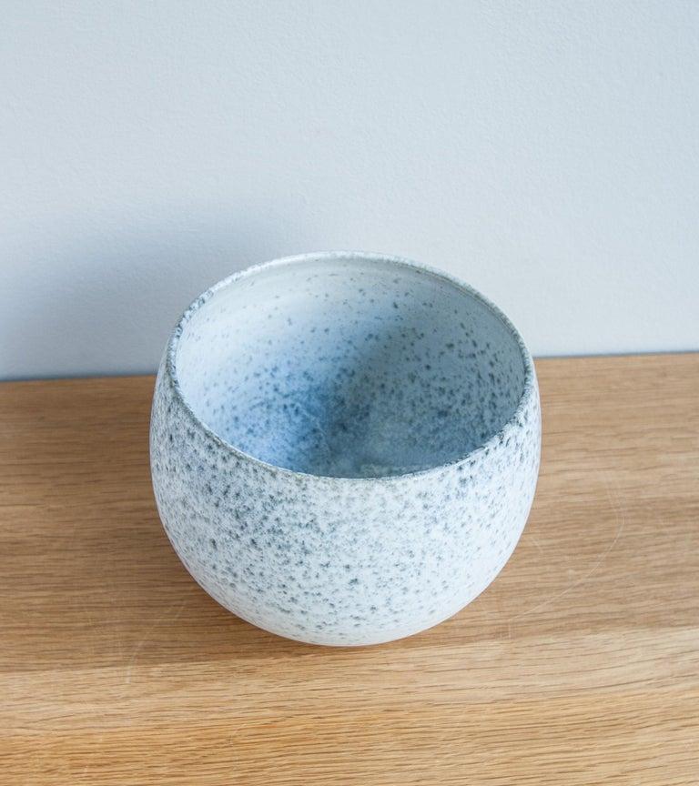 Aage & Kasper Würtz One Off Small Vase Stone Blue Glaze #2 For Sale 3