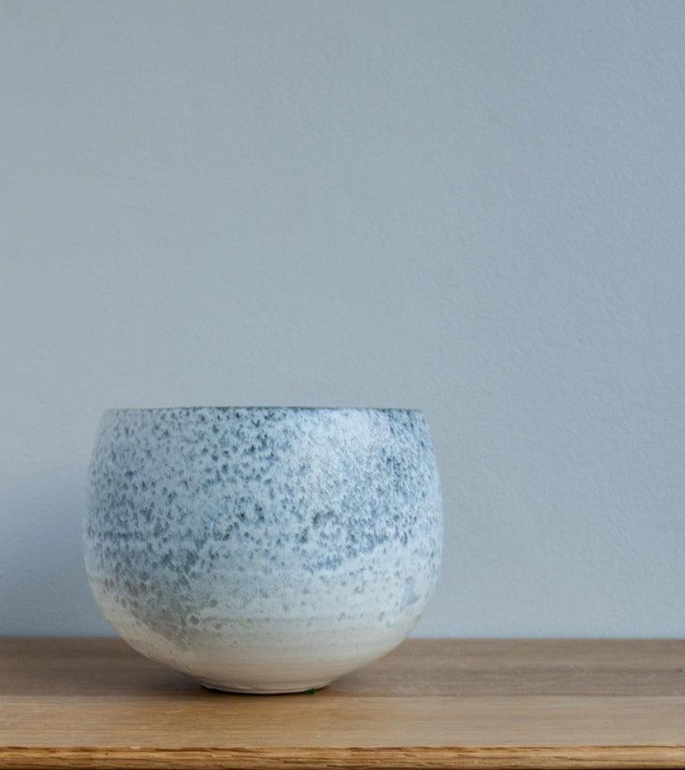 Aage & Kasper Würtz One Off Small Vase Stone Blue Glaze #2 For Sale 1