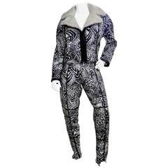 AAllard De Megeve 1980s Ski Outfit