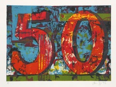 50, Lithograph by Aaron Fink