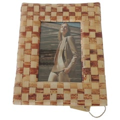 Abaca Woven Decorative Picture Frame