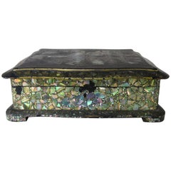 Abalone and Mother of Pearl Jewelry Box, circa 1880s