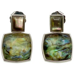 Abalone Mother of pearl Earrings