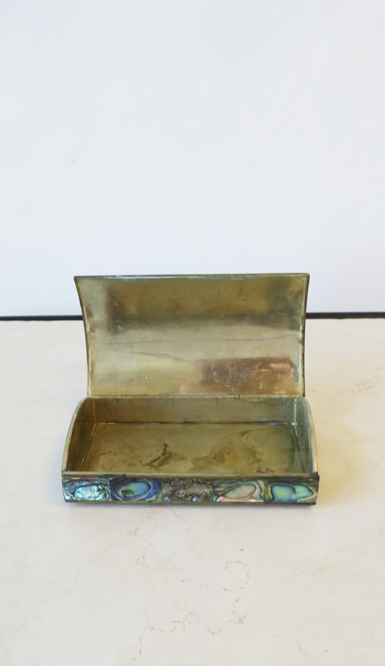 Abalone Sea Shell Jewelry Box For Sale 5