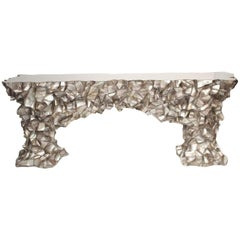 Abalone Shell Console, Videre Licet