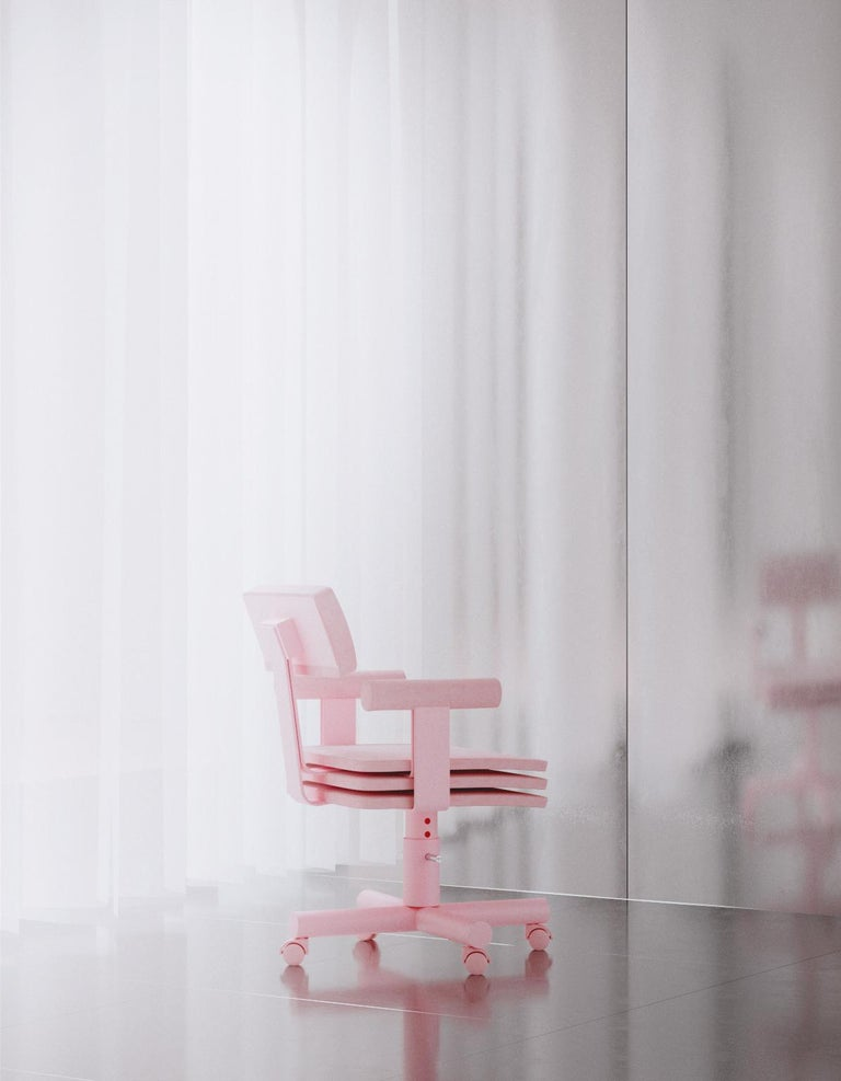 Other Abba Studio Office Pink Dreamy Chair by Reisinger Andres For Sale