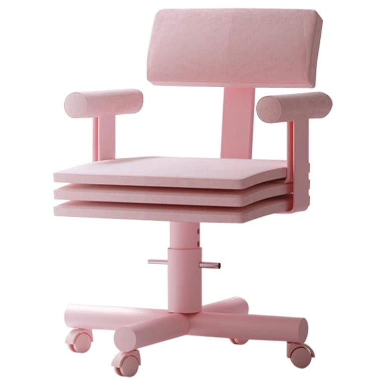 Abba Studio Office Pink Dreamy Chair by Reisinger Andres For Sale