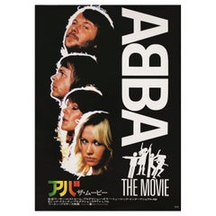 """ABBA: The Movie"" 1978 Japanese B2 Film Poster"