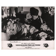 'Abbott and Costello Meet the Killer, Boris Karloff' 1950 French Scene Card