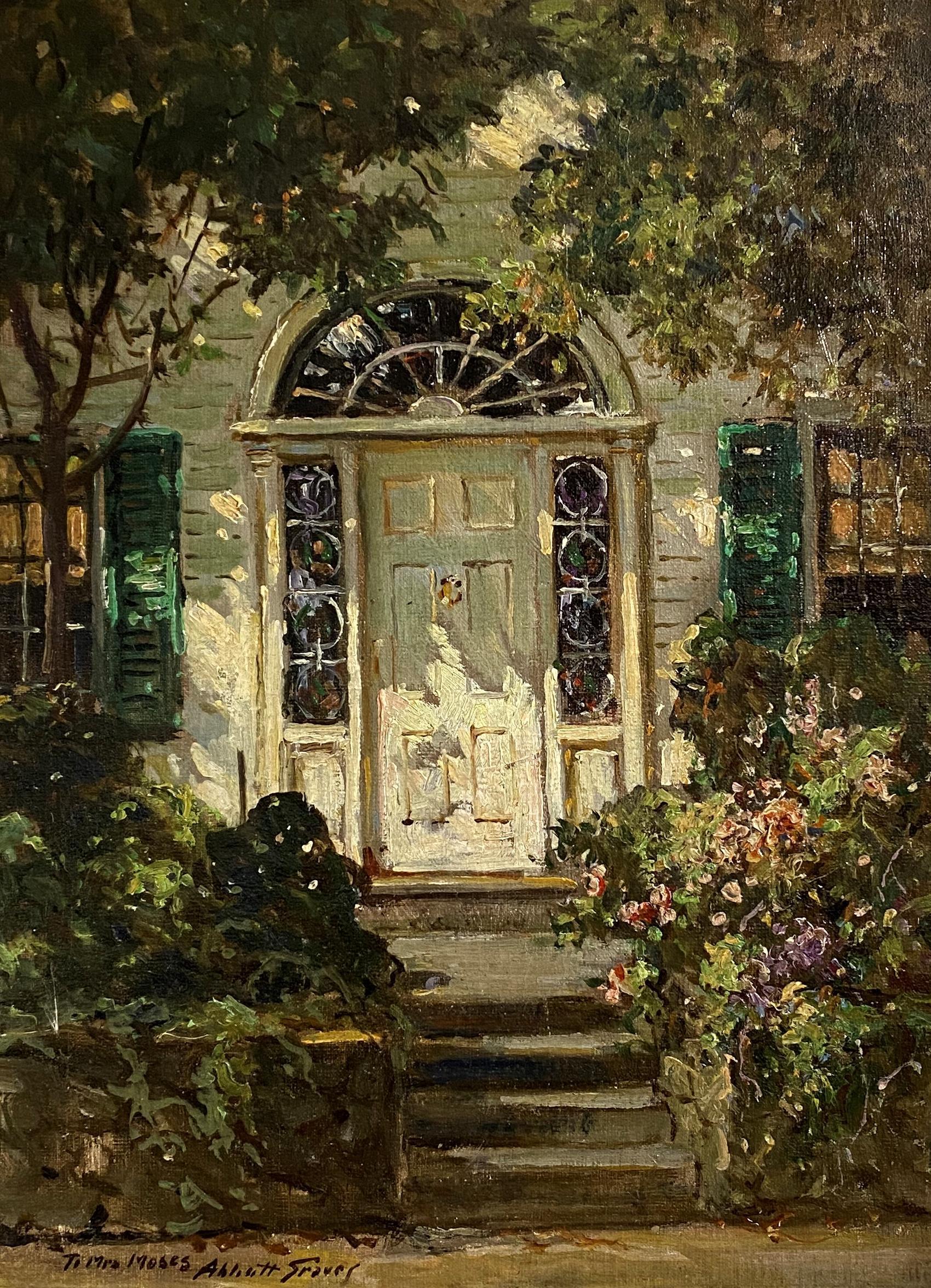 """""""Sunny Doorway, New England"""" Abbott Fuller Graves, Maine, Massachusetts"""