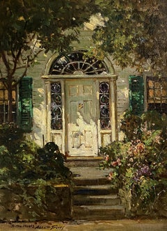 """Sunny Doorway, New England"" Abbott Fuller Graves, Maine, Massachusetts"