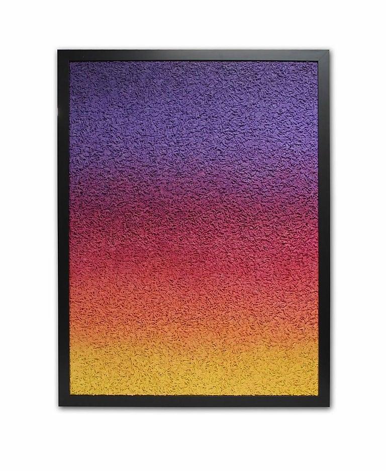 "Abby Elizabeth Abstract Painting - ""Fresh Morning, Broken World"""