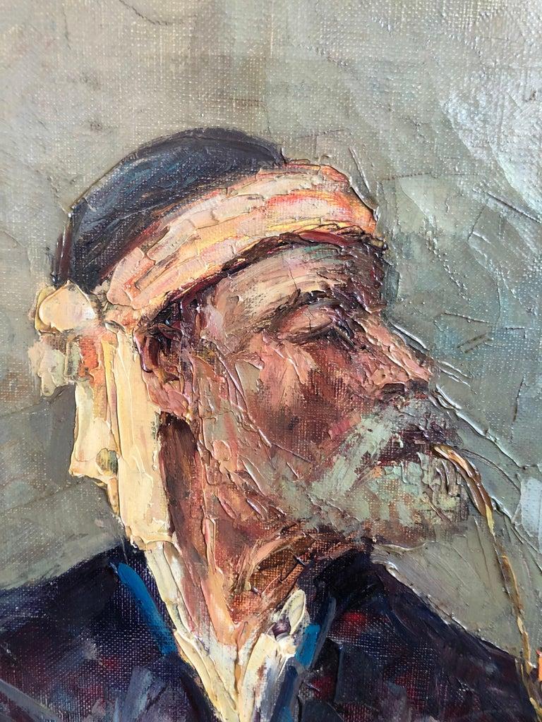 Abdurrahim Buza, Oil on Canvas For Sale 4