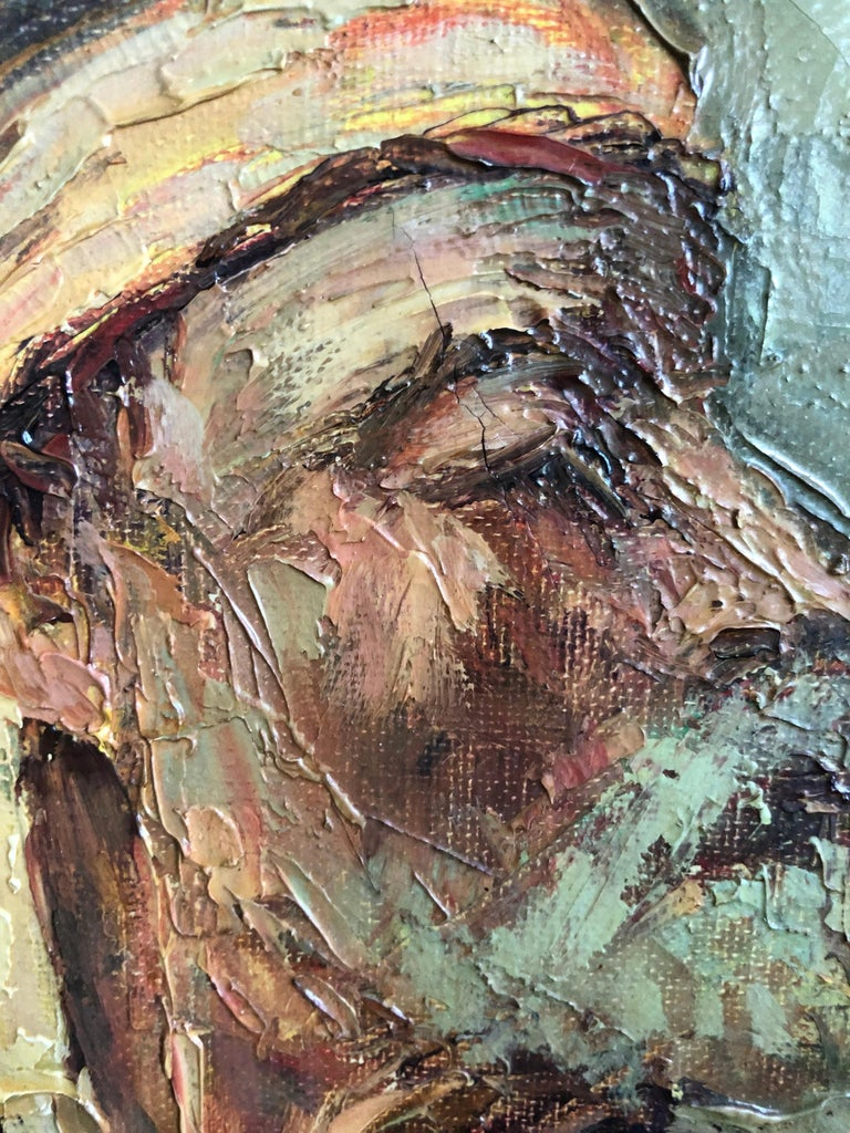 Abdurrahim Buza, Oil on Canvas For Sale 5