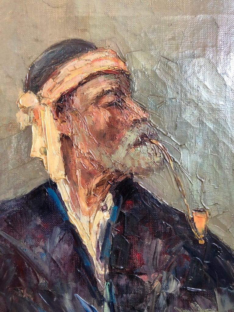 Modern Abdurrahim Buza, Oil on Canvas For Sale