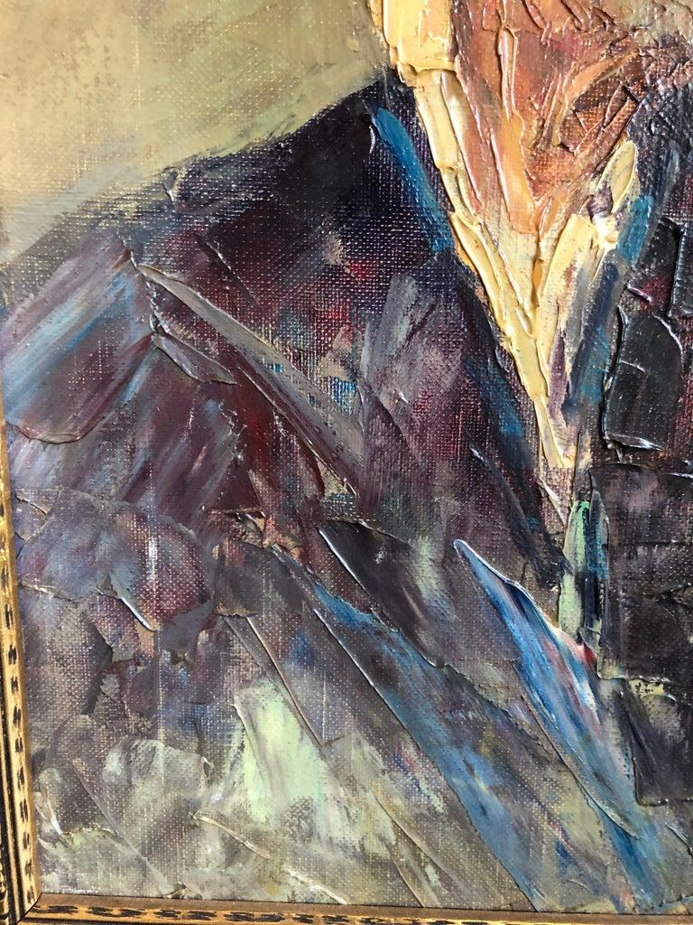 Abdurrahim Buza, Oil on Canvas For Sale 1