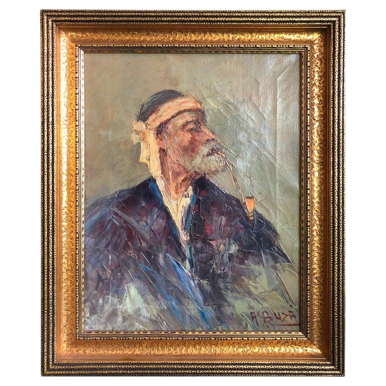 Abdurrahim Buza, Oil on Canvas For Sale