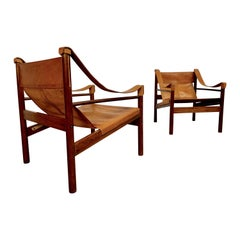 Abel Gonzalez Safari Sling Lounge Chairs