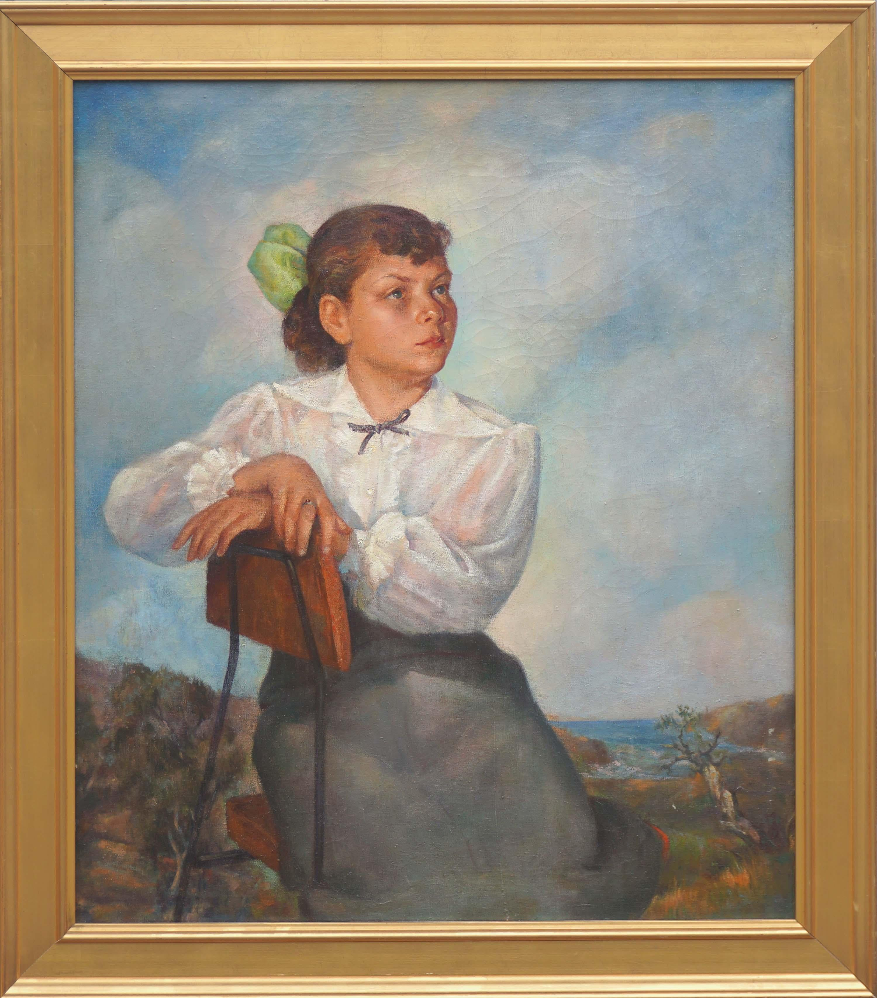 Mid Century Portrait of Lisa Mi Hamlin