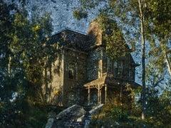 Abelardo Morell, After Hitchcock: Psycho. House. Tent-Camera Image, 2018