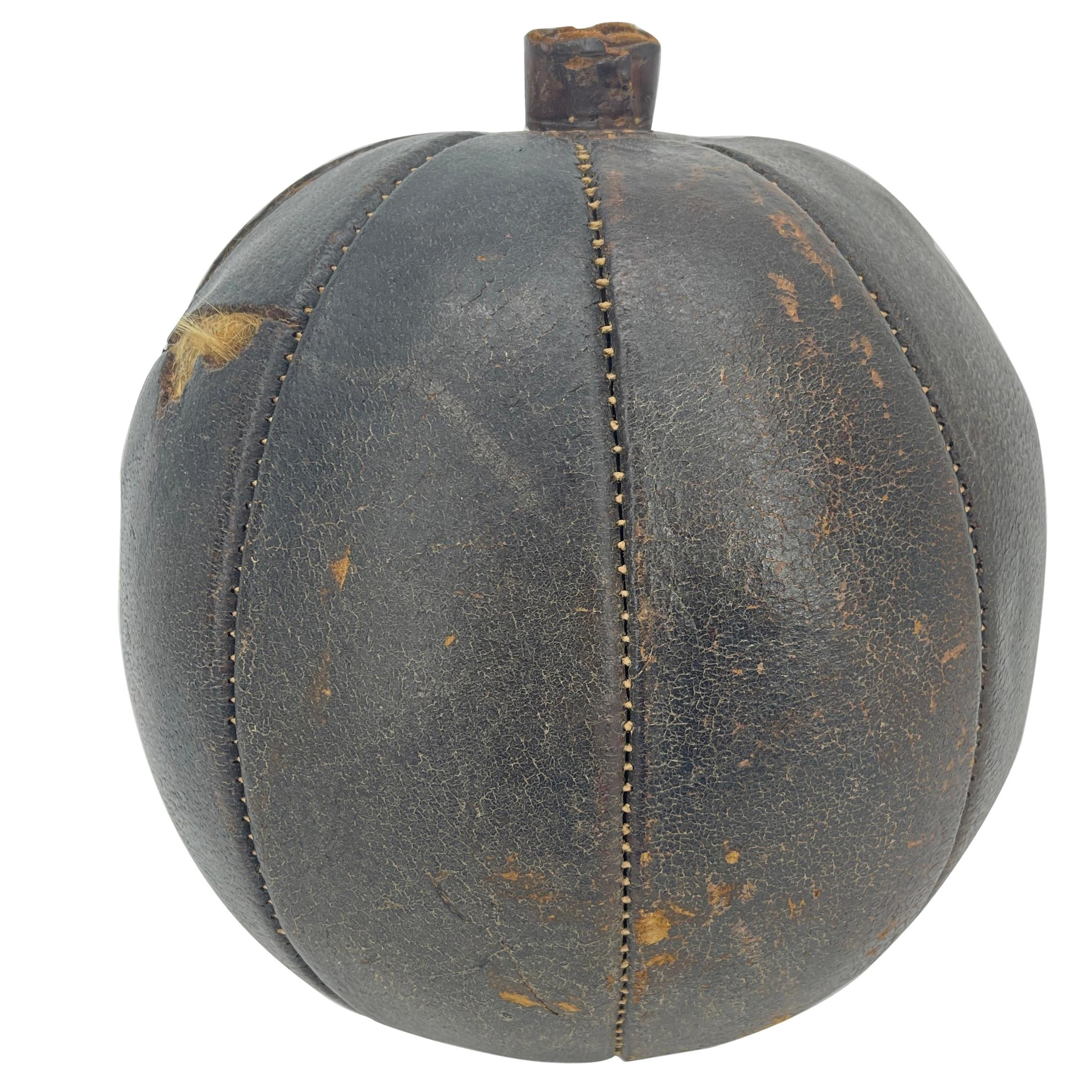 Abercrombie & Fitch Hand-Stitched Leather Pumpkin by Omersa & Company