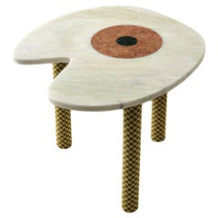 Abide Marble Side Table in Green