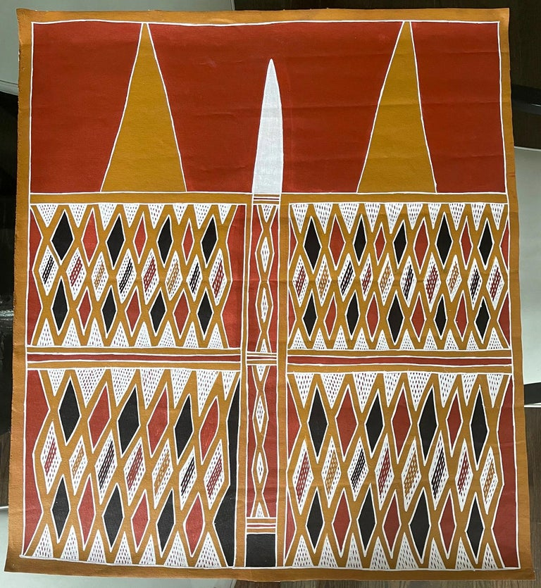Title: Gumatj Ceremonial chest paint