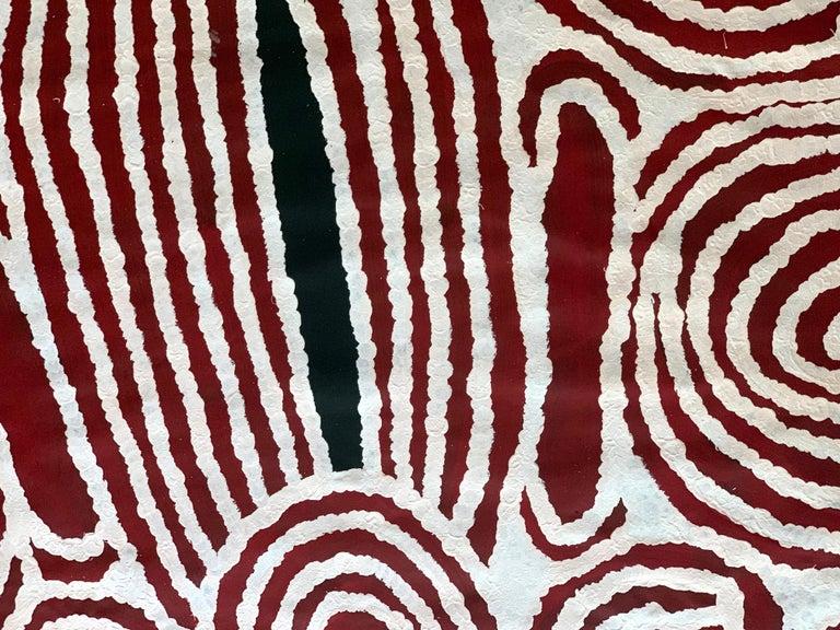 Australian Aboriginal Contemporary Painting by Ningura Napurrula For Sale