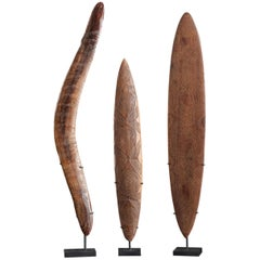 Aboriginal People, Australia, Set of 3 Decorated Items