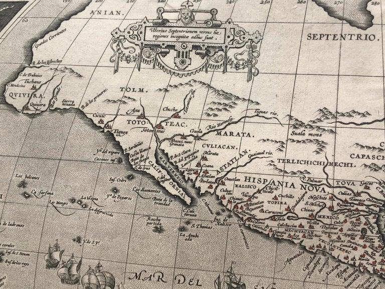 AMERICAE - Sive Novi Orbis, Nova Descriptio - Print by Abraham Ortelius