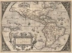 AMERICAE - Sive Novi Orbis, Nova Descriptio