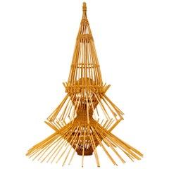 Abraham & Rol Floor Light, Ceiling Light, Pendant Light, Bamboo Rattan AR65