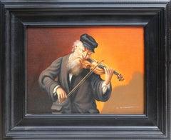 Violinist, Oil Painting by Abraham Straski