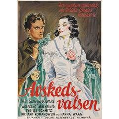 Abschiedswalzer / Farewell Waltz / Avskedsvalsen, Swedish Movie Poster