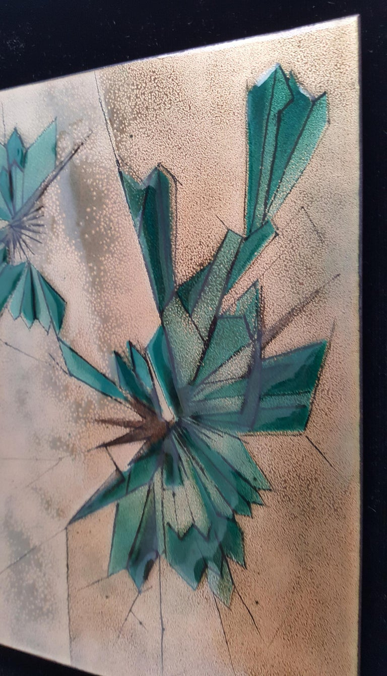 Mid-Century Modern Abstract 2 by Irwin Whitaker For Sale