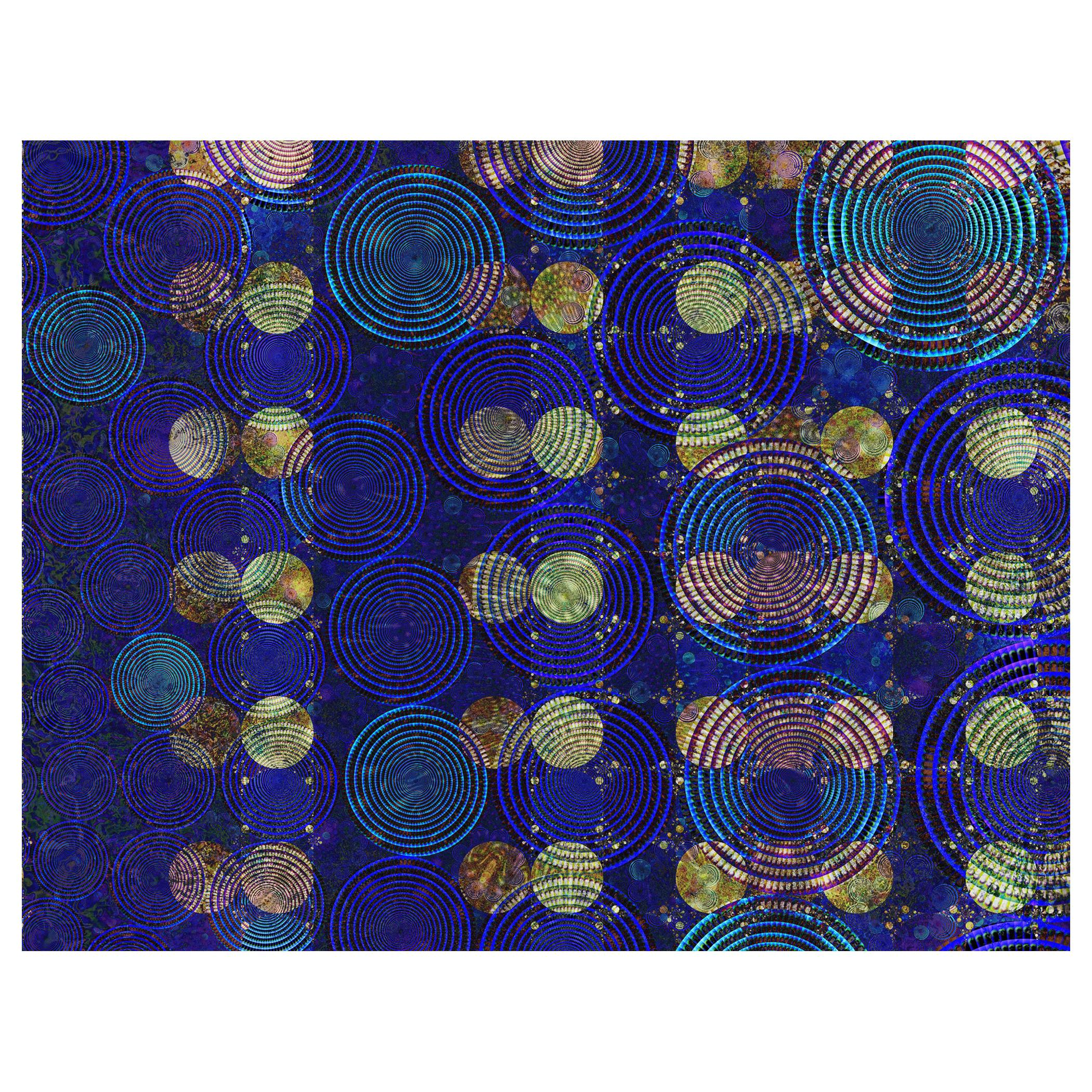 "Abstract Archival Digital Fine Art Print, William P. Montgomery, ""Night Vision"""