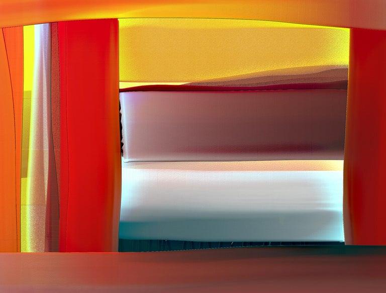 Abstract archival digital Fine Art print, William P. Montgomery,