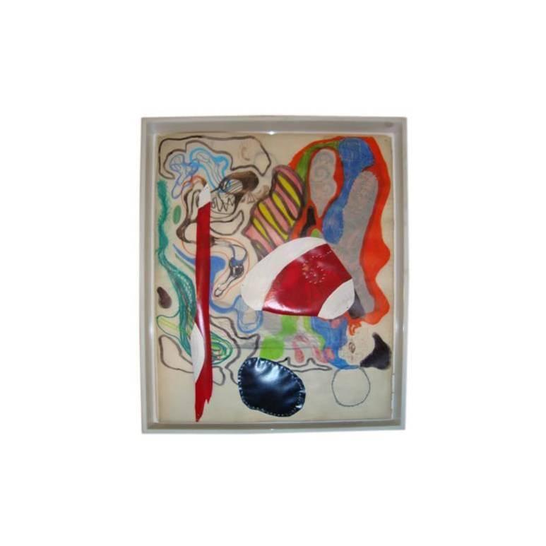 Abstract Artwork by Matthew Weinstein of the Sonnabend Gallery