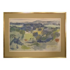 Abstract Artwork Signed by Artist