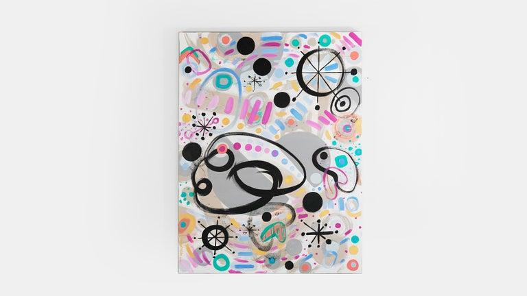 Medium: Acrylic on canvas Subject matter: Abstract Size: 36